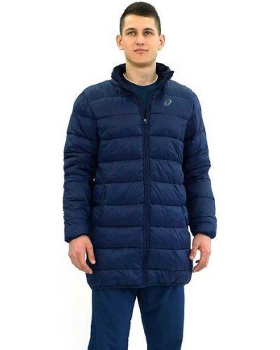 Утепленная куртка длинная нейлоновая Asics