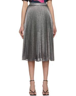 Плиссированная юбка на резинке пачка Christopher Kane