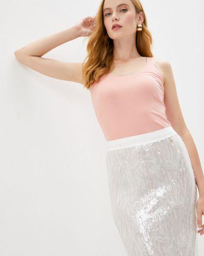 Розовая домашняя футболка Wolford