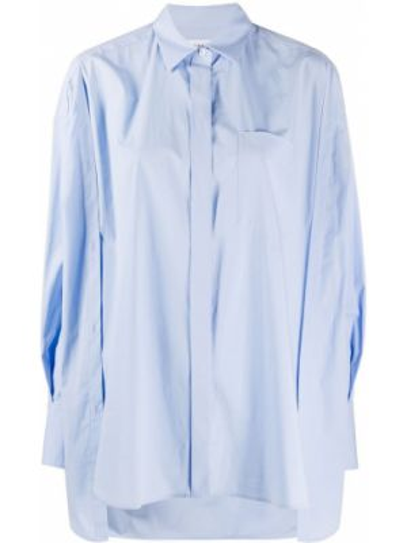 Klasyczna koszula z długim rękawem z kołnierzem Enfold