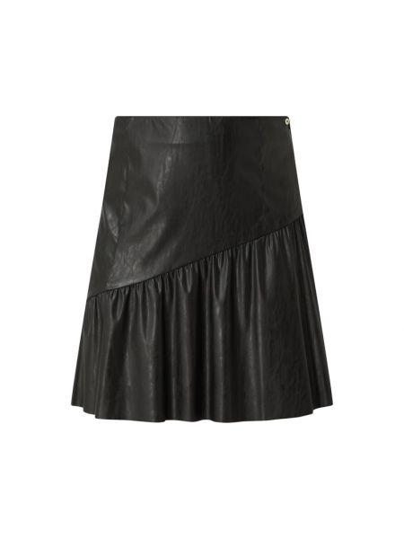 Czarna spódniczka mini z falbanami Pennyblack