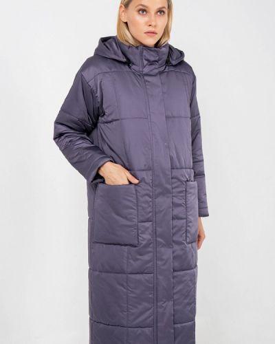 Утепленная куртка осенняя фиолетовый Crocodile Coup