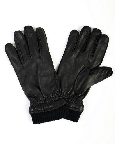 Кожаные перчатки Bugatti