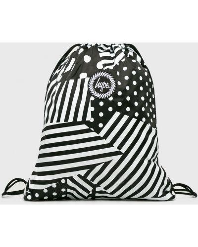 Черный рюкзак с отделениями Hype