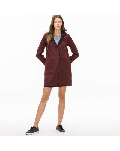 Куртка красная двусторонний Lacoste