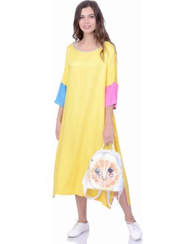 Платье в стиле бохо футболка Lautus