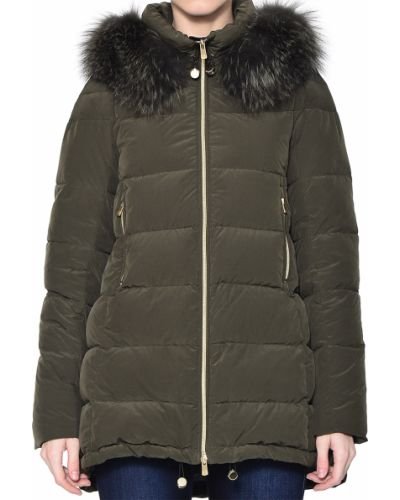 Куртка осенняя зеленая Montecore