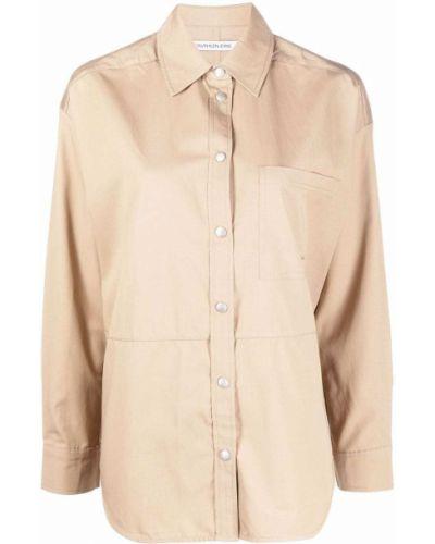 Джинсовая рубашка длинная Calvin Klein Jeans