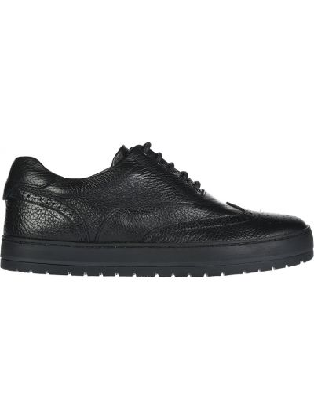 Туфли спортивные черные Baldinini