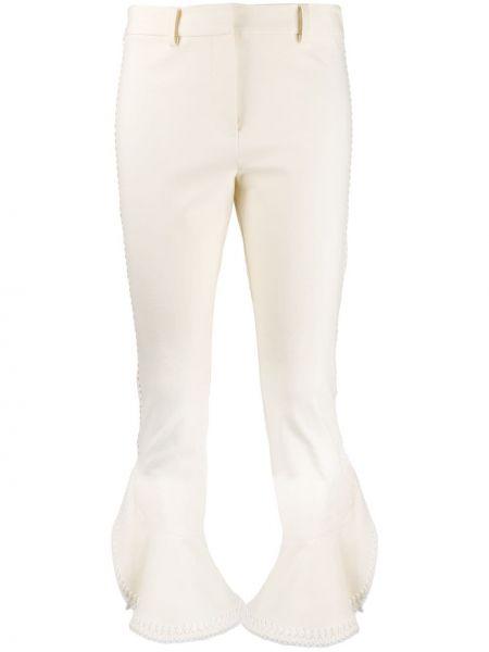 Укороченные брюки расклешенные с оборками Derek Lam 10 Crosby