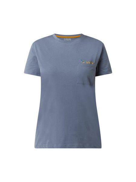 T-shirt bawełniana - niebieska Jake*s Casual