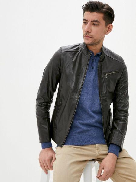 Кожаная куртка - коричневая Giorgio Di Mare