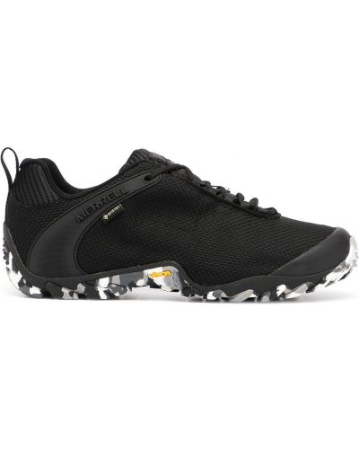 Czarne sneakersy na obcasie sznurowane Merrell