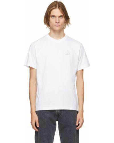 Biała koszulka krótki rękaw Carne Bollente