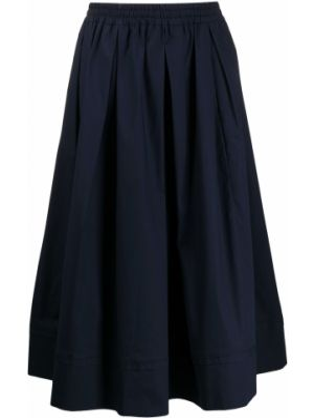 Плиссированная юбка с завышенной талией с карманами Fay