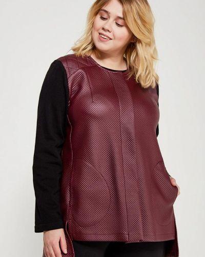 Пиджак красный бордовый Leshar