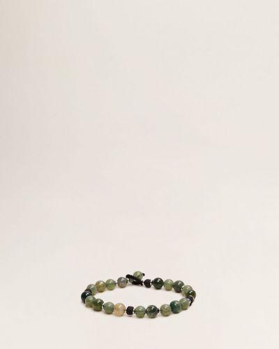 Зеленый браслет Mango Man