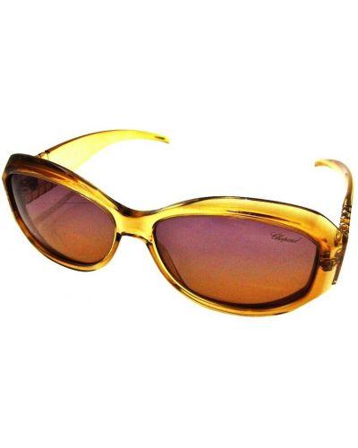 Brązowe okulary Chopard