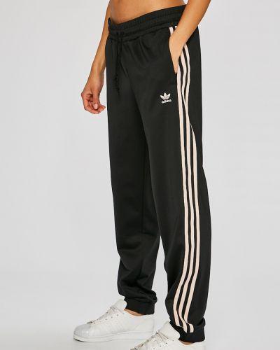 Брюки на резинке с карманами брюки-сигареты Adidas Originals