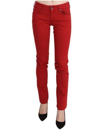 Czerwone jeansy Plein Sud