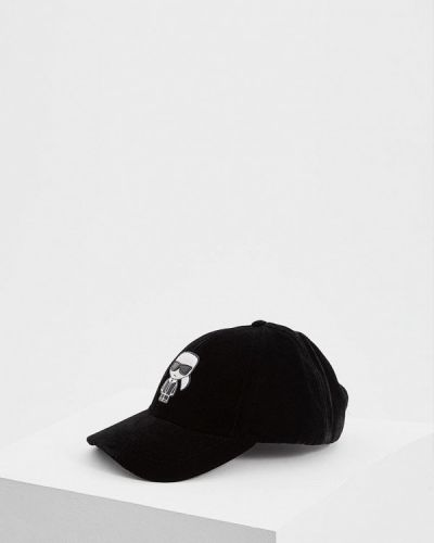 Черная бейсболка Karl Lagerfeld