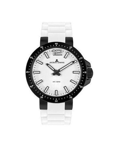 Часы с силиконовым ремешком Jacques Lemans