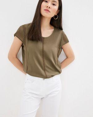 Блузка с коротким рукавом зеленый весенний Gerry Weber