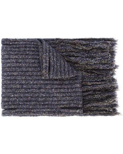 Синий шарф в рубчик Craig Green