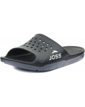 Пляжные шлепанцы для бассейна черные Joss