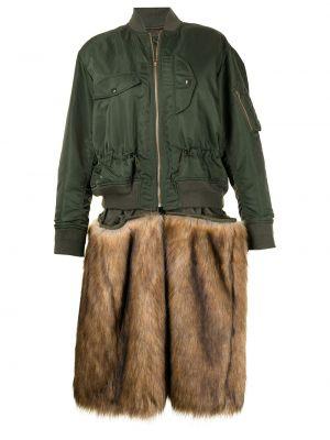 Зеленая нейлоновая куртка Toga Pulla