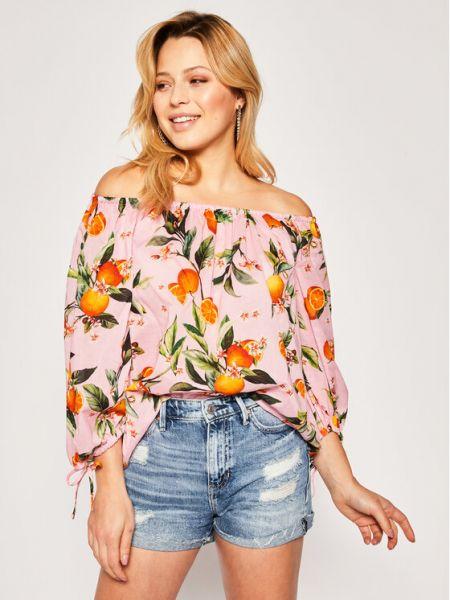 Bluzka - różowa Iblues