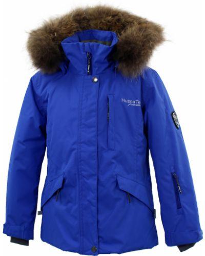 Флисовая куртка - синяя Huppa