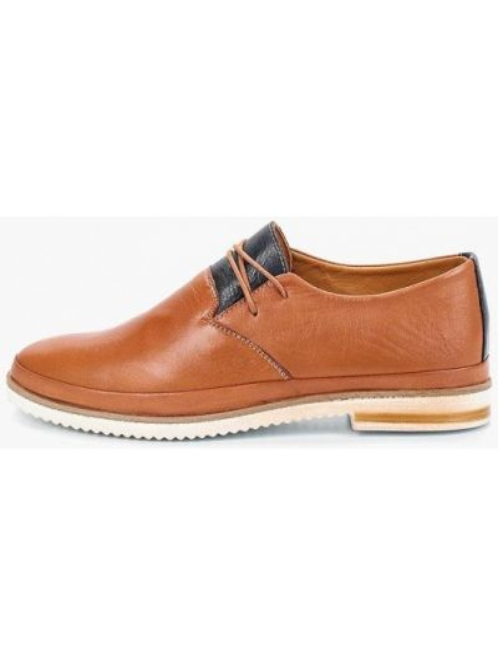 Кожаные ботинки коричневые кожаные Alessio Nesca