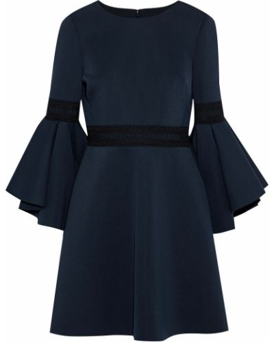 Платье мини - синее Badgley Mischka