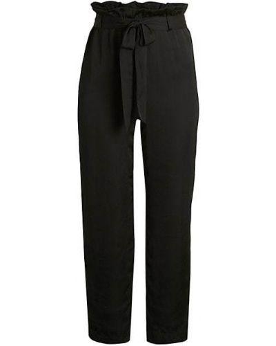 Czarne spodnie z paskiem vintage Bailey 44