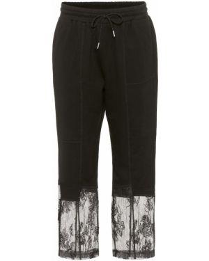 Спортивные брюки из штапеля темный Mcq Alexander Mcqueen