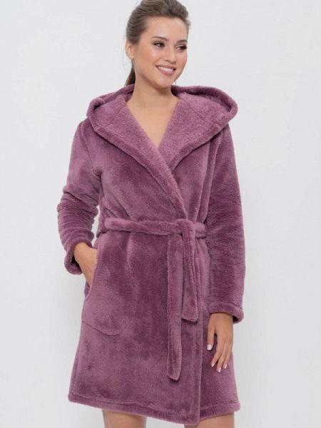 Халат домашний фиолетовый Cleo