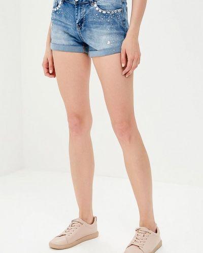 Синие джинсовые шорты B.style