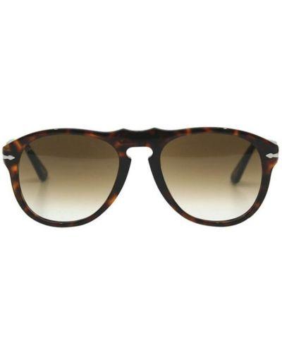 Beżowe okulary Persol