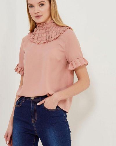 Блузка розовая индийский Lost Ink.