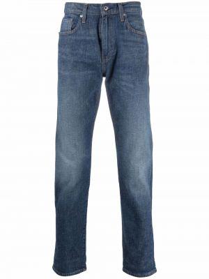 Klasyczne mom jeans - niebieskie Levis Made & Crafted