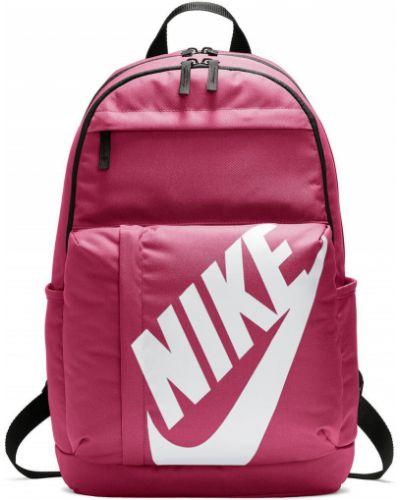 Красный рюкзак с отделениями Nike