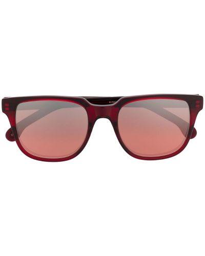 Солнцезащитные очки красный черные Paul Smith Eyewear