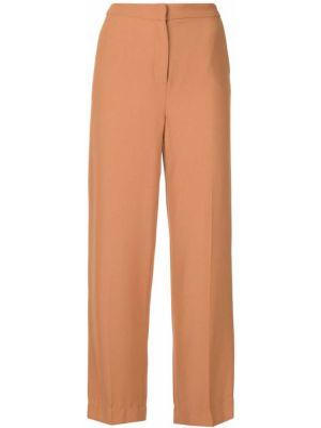 Укороченные брюки с воротником с поясом свободного кроя Bianca Spender