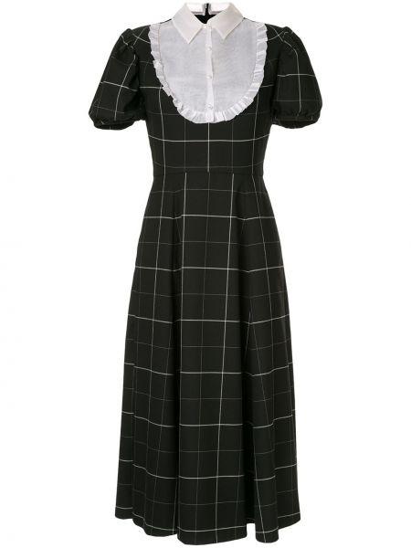 Платье миди на пуговицах классическое Macgraw