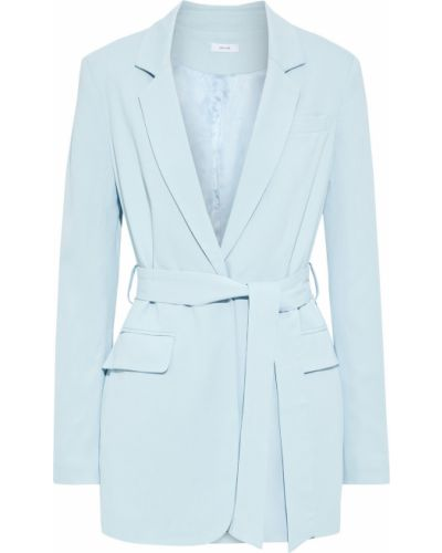 Синий пиджак с подкладкой из вискозы Iris & Ink