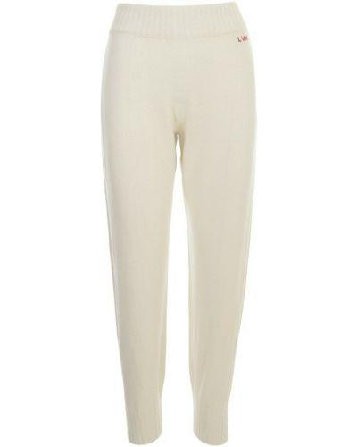 Białe spodnie Liviana Conti