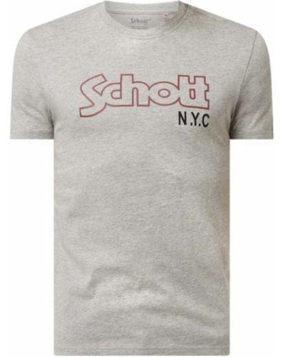 T-shirt bawełniana Schott Nyc