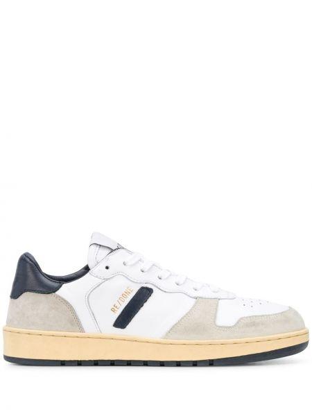 Sneakersy z logo białe Re/done