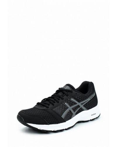 Черные кроссовки из искусственной кожи Asics